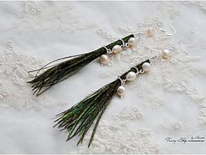 Создаем необычные сережки «Клеопатра». Ярмарка Мастеров - ручная работа, handmade.