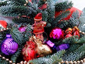 DIY Christmas Wreath of Blue Spruce. Livemaster - handmade
