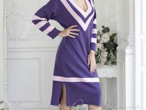 Аукцион на  вязаное платье свободного фасона! Старт 2000 руб.!. Ярмарка Мастеров - ручная работа, handmade.