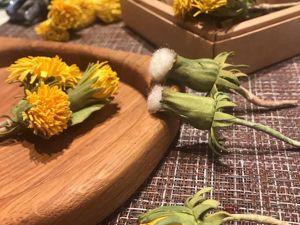 Одуванчики на ужин. Ярмарка Мастеров - ручная работа, handmade.
