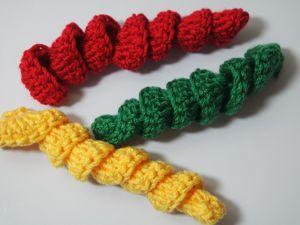 Легкий способ связать спираль крючком. Ярмарка Мастеров - ручная работа, handmade.