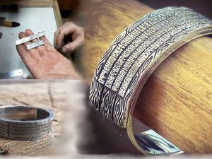 Кольцо с Молитвой Отче Наш из Серебра 925 Пробы. Ярмарка Мастеров - ручная работа, handmade.