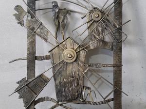 Пано Мельница(ковка). Ярмарка Мастеров - ручная работа, handmade.
