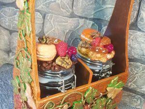 Короб для хранения  «Фантазийный сад». Ярмарка Мастеров - ручная работа, handmade.