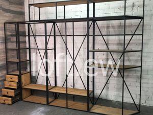 Стеллажная конструкция в стиле лофт. Ярмарка Мастеров - ручная работа, handmade.