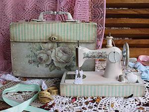 Преображение старенькой швейной машиночки. Ярмарка Мастеров - ручная работа, handmade.