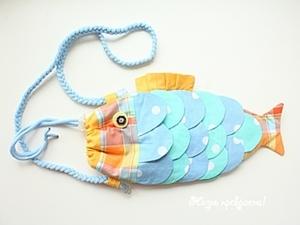 """Шьем детскую сумочку """"Рыба"""". Ярмарка Мастеров - ручная работа, handmade."""