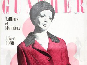 Gunther Moden -старый журнал мод-  Зима 1966. Ярмарка Мастеров - ручная работа, handmade.