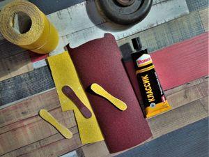 Как сделать палочку-шлифовалочку, быстро и просто. Ярмарка Мастеров - ручная работа, handmade.