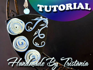 Видеоурок: создаем кулон «Лунный свет» из полимерной глины. Ярмарка Мастеров - ручная работа, handmade.