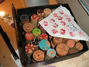 Штампы из винных пробок. Ярмарка Мастеров - ручная работа, handmade.