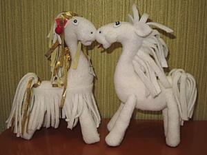 Лошадки Юлия и Юлий. Ярмарка Мастеров - ручная работа, handmade.