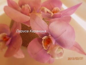 Мастер-класс: орхидея из шелка. Ярмарка Мастеров - ручная работа, handmade.