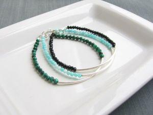 Коллекция браслетов «Simple». Ярмарка Мастеров - ручная работа, handmade.