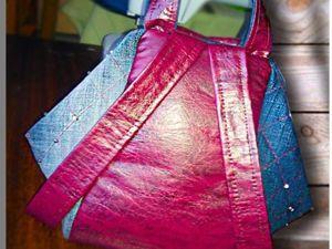 Как сшить сумку-трансформер. Ярмарка Мастеров - ручная работа, handmade.