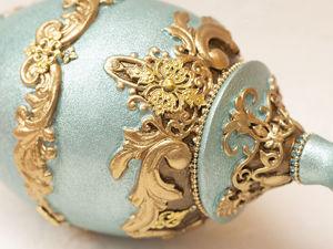 Яйцо интерьерное пасхальное. Ярмарка Мастеров - ручная работа, handmade.