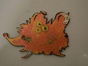 Делаем ежика-магнит в стиле стимпанк. Ярмарка Мастеров - ручная работа, handmade.