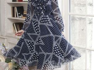 Видео-ролик, платье  «Гороховый бум». Ярмарка Мастеров - ручная работа, handmade.