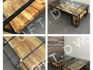Журнальный стол в стиле лофт. Ярмарка Мастеров - ручная работа, handmade.