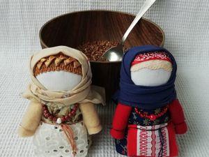 Крупеничка (Зерновушка)  — оберег на достаток. Ярмарка Мастеров - ручная работа, handmade.