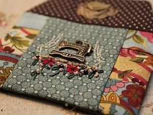 """Мастер-класс по изготовлению текстильного сувенира """"Домик рукодельницы"""". Ярмарка Мастеров - ручная работа, handmade."""