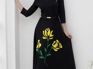 Видео- ролик, платье  «Желтые розы для любимой». Ярмарка Мастеров - ручная работа, handmade.