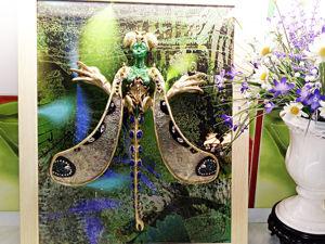 Картина Женщина -стрекоза Рене Лалик. Ярмарка Мастеров - ручная работа, handmade.