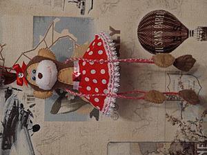 Видео мастер-класс по пошиву обезьянки. Ярмарка Мастеров - ручная работа, handmade.