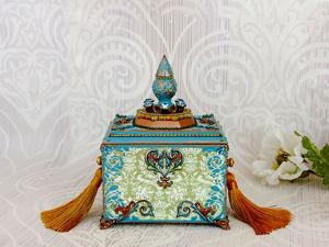 Дополнительные фото — Шкатулка  «Сания». Ярмарка Мастеров - ручная работа, handmade.