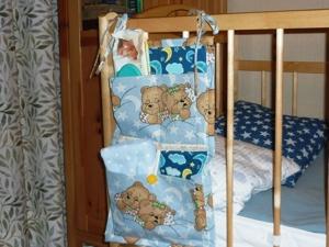 Кармашки на детскую кроватку. Ярмарка Мастеров - ручная работа, handmade.