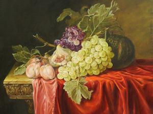 Пишем «Натюрморт с красным бархатом». Ярмарка Мастеров - ручная работа, handmade.