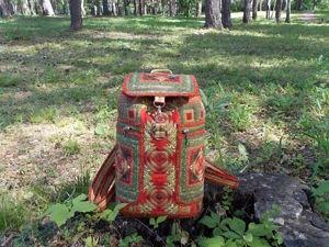 Рюкзачок в Русском стиле. К фестивалю готов!. Ярмарка Мастеров - ручная работа, handmade.