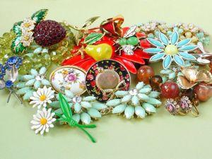 Аукцион винтажных украшений  «Весна, приходи! :)», 06-07 марта. Ярмарка Мастеров - ручная работа, handmade.