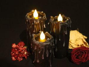 Создаём «вечные» свечи для декора. Ярмарка Мастеров - ручная работа, handmade.