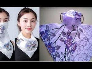 Шьём маску-платок. Удобно и модно!. Ярмарка Мастеров - ручная работа, handmade.
