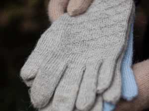 Перчатки спицами. Ярмарка Мастеров - ручная работа, handmade.