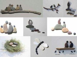 Галечное искусство Sharon Nowlan. Ярмарка Мастеров - ручная работа, handmade.