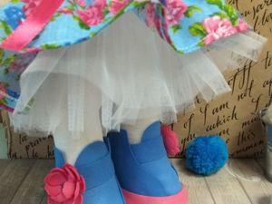 Как сделать пышную юбочку для куклы. Ярмарка Мастеров - ручная работа, handmade.
