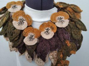 Распродажа авторских оригинальных шарфиков от 999 руб. Ярмарка Мастеров - ручная работа, handmade.