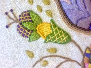 Якобинская вышивка: простые секреты для красивой работы. Ярмарка Мастеров - ручная работа, handmade.