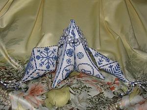 Мастер-класс «Разнообразие бискорню». Часть 3: создаем кристалл, сосульку и ёлочку. Ярмарка Мастеров - ручная работа, handmade.