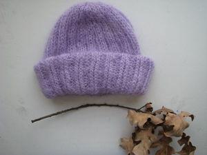 Как связать шапку с отворотом: видеоурок. Ярмарка Мастеров - ручная работа, handmade.