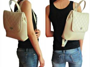 Акция  «Купи рюкзак и получи портмоне в подарок». Ярмарка Мастеров - ручная работа, handmade.
