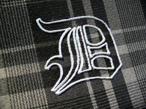 Как перенести рисунок на темную ткань с помощью иглы и мела. Ярмарка Мастеров - ручная работа, handmade.