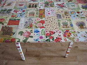 Мастер-класс «Стол – цветочная поляна». Ярмарка Мастеров - ручная работа, handmade.