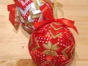 Создаем стильные новогодние шары. Ярмарка Мастеров - ручная работа, handmade.
