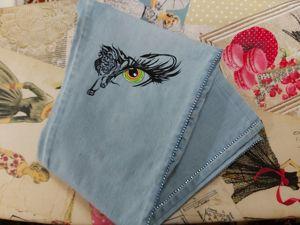 Роспись по ткани и коже-новое направление моего творчества!. Ярмарка Мастеров - ручная работа, handmade.