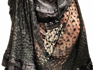Новое платье из шитья и кружева Трис. Ярмарка Мастеров - ручная работа, handmade.