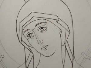 Рисунок — основа живописного произведения. Ярмарка Мастеров - ручная работа, handmade.