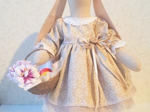 Шьем пасхальную тильда-зайку в съемной одежде. Часть 2. Ярмарка Мастеров - ручная работа, handmade.